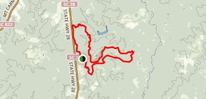Parsons Mountain OHV  Trail Map