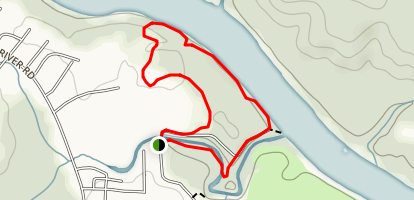 Rock Hill River Park Loop Map