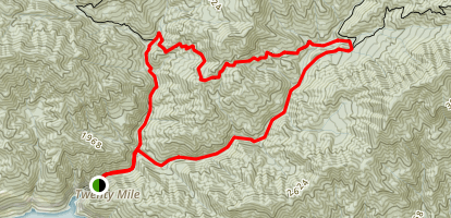 Twentymile Creek Loop Map