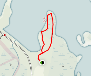 Cypress Point Trail Map