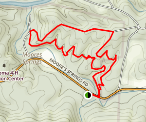 North Side Loop Trail Map