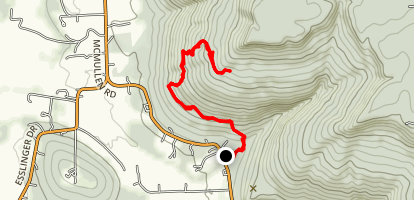 Lost Sink Trail Map