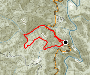 Vancliff Loop Trail Map