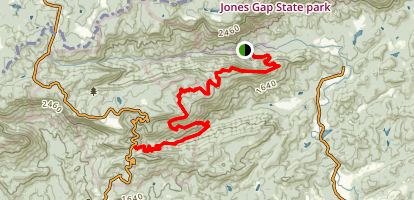 Pinnacle Pass Trail Map