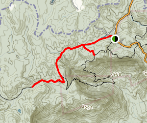 Gum Gap Trail  Map