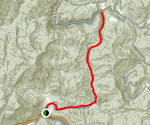 Old River Road Map