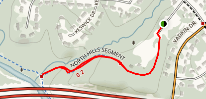 North Hills Trail Map