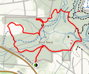 Lake Conestee Nature Park Loop Map