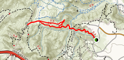 Peninsula Trail  Map