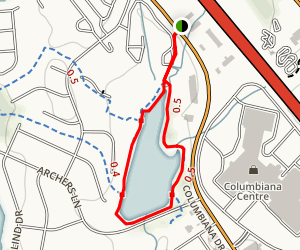 Columbia Loop Map