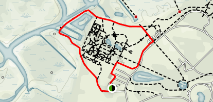 Brookgreen Gardens Loop Map