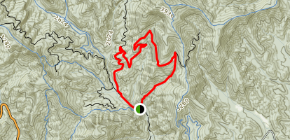 Pressley Cove Loop Map