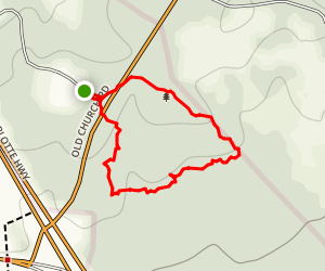 Crawford Hiking Trail  Map