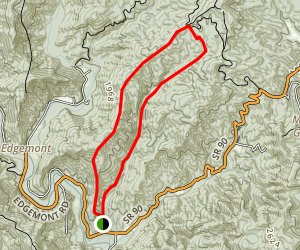 Wilson Ridge - Schoolhouse Ridge Loop Map