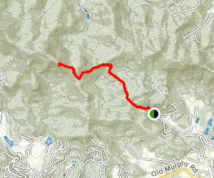 Bartram Trail: Wallace Branch to William's Pulpit Map