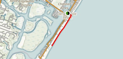 Wrightsville Beach Walk Map