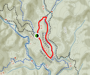 Wash Creek Map