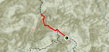 Steels Creek Waterfall Map