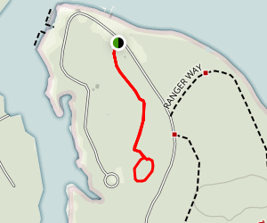 Oak Pinolley Trail  Map
