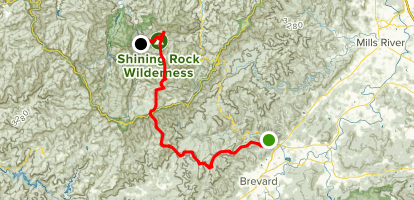 Art Loeb Trail Map