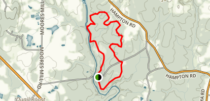 Hill Forest Loop Trail Map