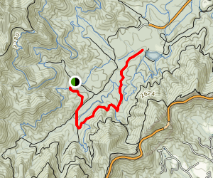 Lower Side Hill to Explorer Loop Map