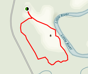 Town Creek Indian Mound Loop Map