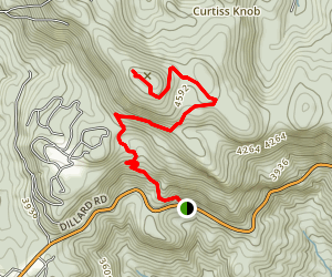 Scaly Mountain Trail Map