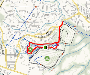 North Wake Landfill Trail Map