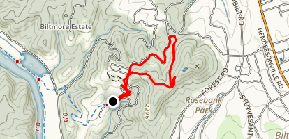 Diana Trail Map