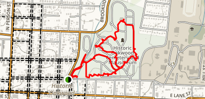 Raleigh Historic Neighborhood Walk Map