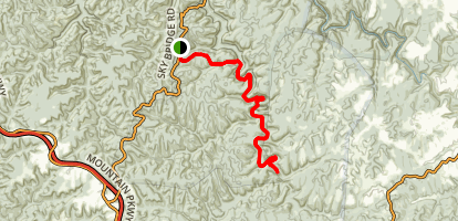 Swift Camp Creek Trail Map