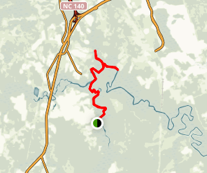 Rice Creek to Town Creek Map