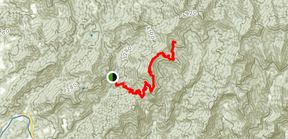 Wolfpen Gap Map