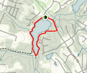 Bass Lake Map