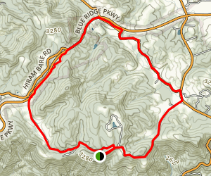 Higgins Lodge, Laurel Ridge Ride Map
