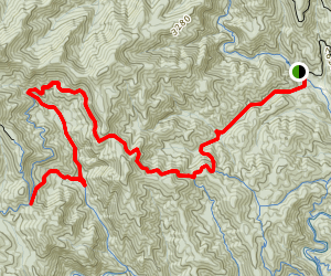 Horse Cove Gap Map