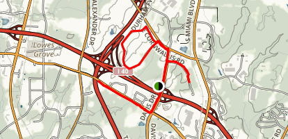 Research Triangle Park Map
