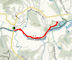 Upper River Trail Map