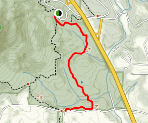 Grassy Ridge Trail Map