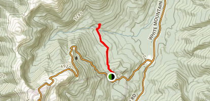 Mount Madison via Appalachian Trail Map