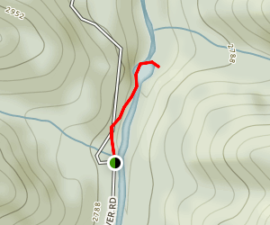 Elk River Falls Trail Map