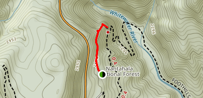 Whitewater Falls Map
