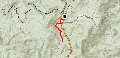 Sloan Bridge Falls Map