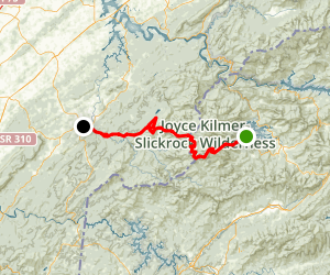 Cherohala Skyway Map