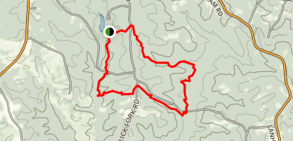 Lick Fork Lake Trail Map