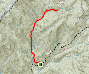 Cherry Creek Ridge Trail Map