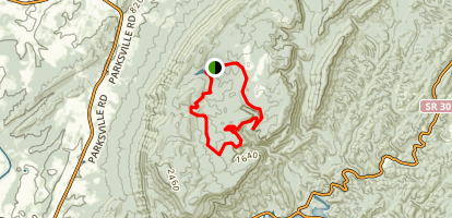 Rim Trail Map