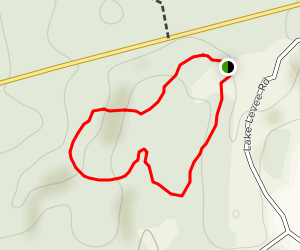 Fern Loop Nature Trail Map