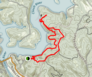 Lakeside Loop Trail Map
